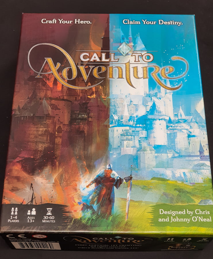 Read more about the article [規則+心得] Call to Adventure 冒險號召