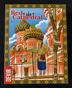 Read more about the article 《桌遊拓荒系列007》The Red Cathedral 紅色大教堂
