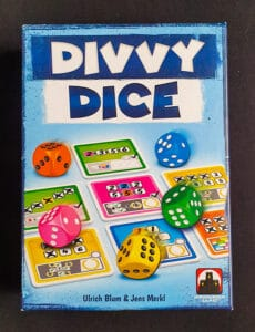 Read more about the article 《桌遊拓荒系列010》Divvy Dice 分享骰