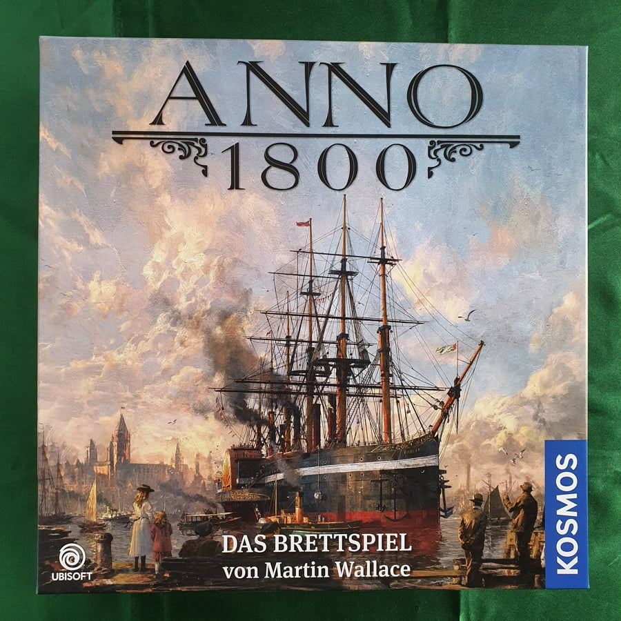 Read more about the article ANNO 1800 The board Game 美麗新世界